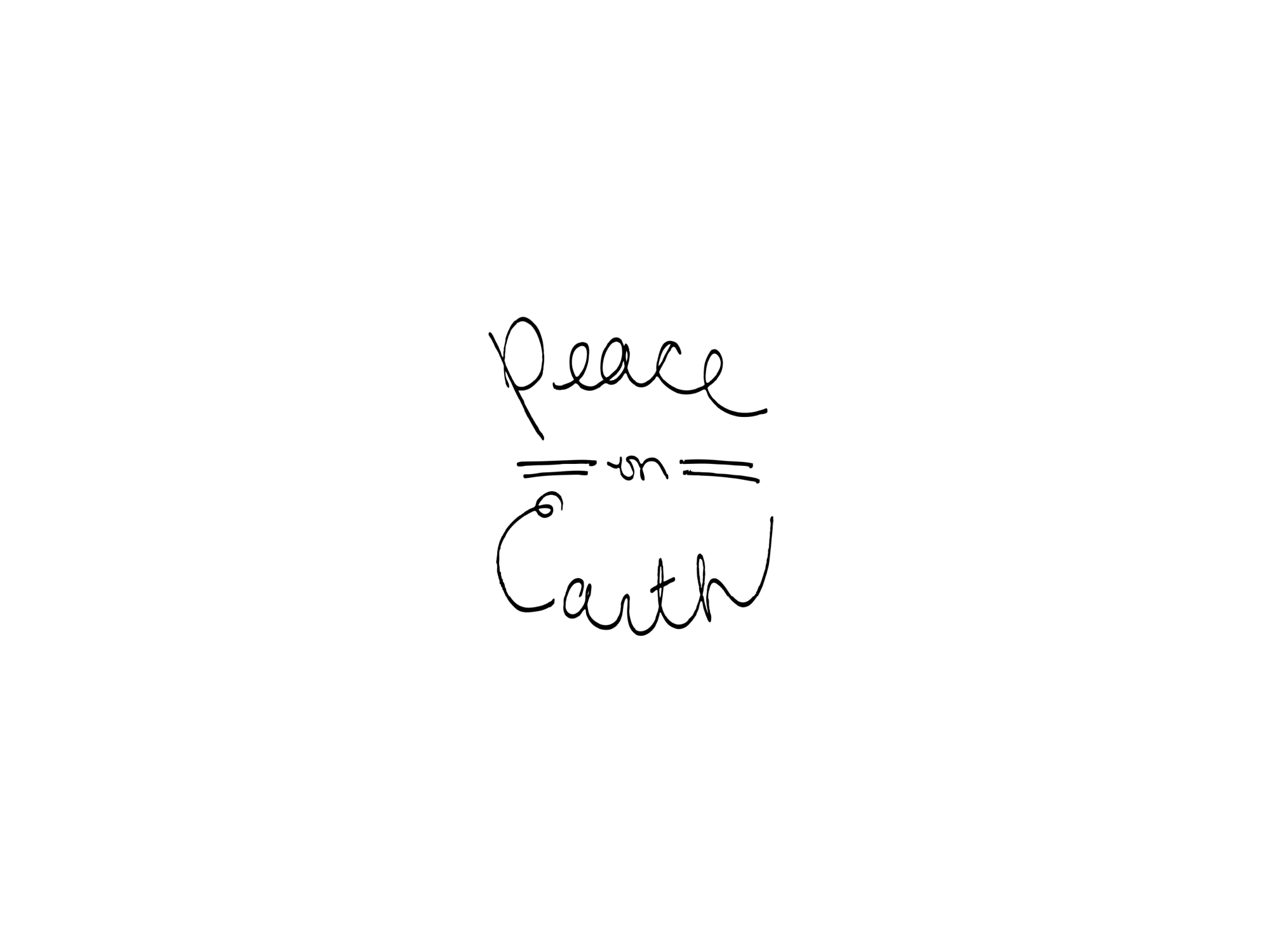 peace on earth christmas card laura alicia freeman shop handmade christmas cards 2015 - Peace On Earth Christmas Cards